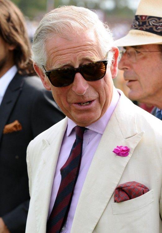 Prince Charles in Wayfarer Sunglass Style