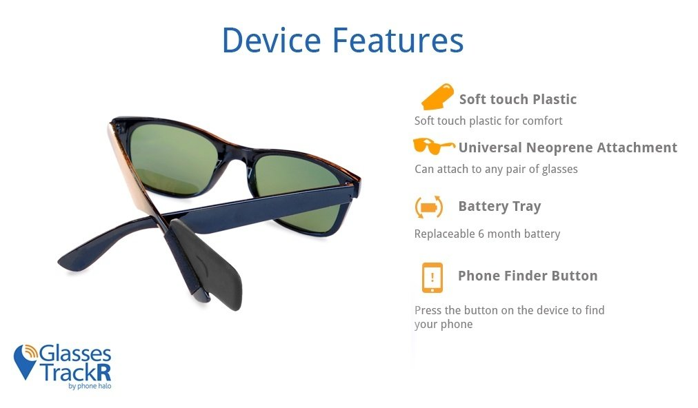 Sunglasses Glasses Trackr