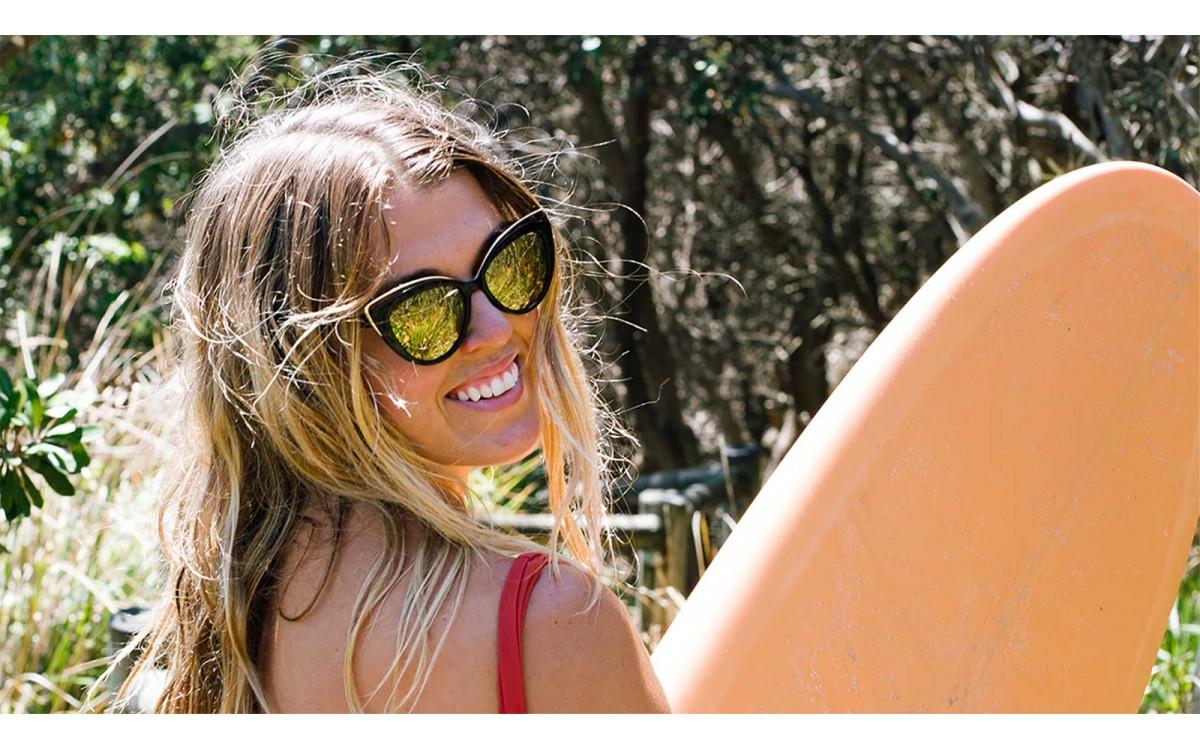 Kate Nelson Plastic Free Mermaid - Ambassador of Sunglass Fix Helping to reduce Sunglass Waste through Repair