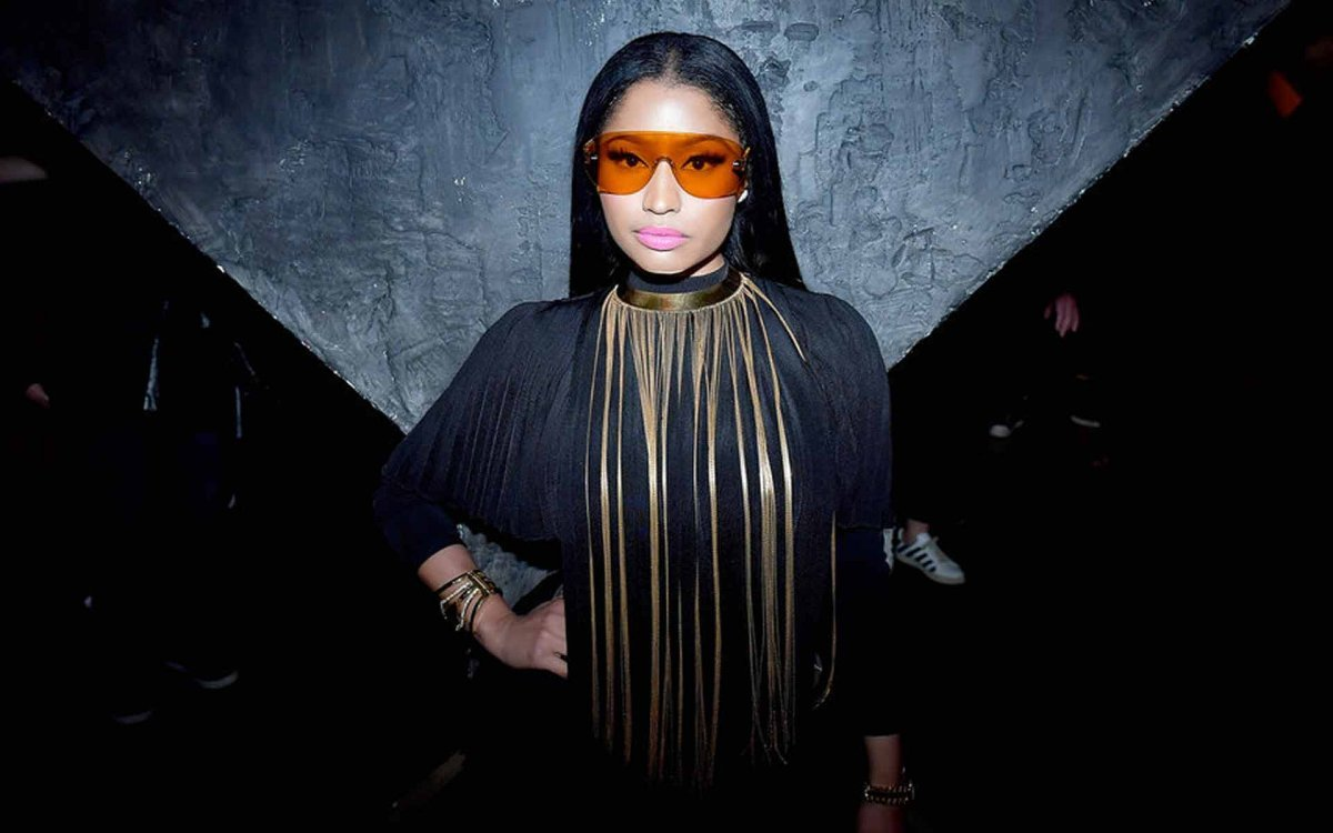 Nicki Minaj Charts Her Own Sunglass Lens Style