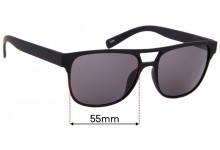 Alfred Sung Replacement Sunglass Lenses - 55mm Wide