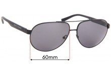 Sunglass Fix Replacement Lenses for Armani Exchange AX 2022S - 60mm Wide