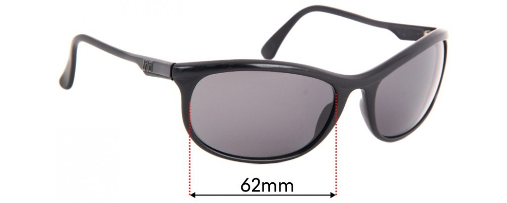 Arnette Big Deal Replacement Sunglass Lenses - 62mm Wide