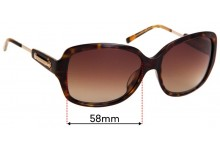 Burberry B 4049 Replacement Sunglass Lenses - 58mm Wide
