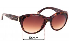 Sunglass Fix Replacement Lenses for Dolce & Gabbana DG4128 - 56mm wide