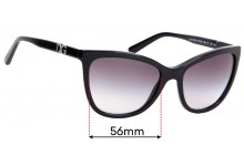Sunglass Fix Replacement Lenses for Dolce & Gabbana DG4193M - 56mm wide