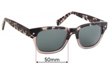 Eco By Modo Vail Replacement Sunglass Lenses - 50mm Wide