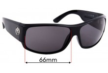 Electric Module Replacement Sunglass Lenses - 63mm Wide