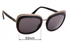 EMPORIO ARMANI EA 2058 Replacement Sunglass Lenses - 53mm wide