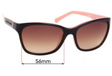 Emporio Armani EA4004 Replacement Sunglass Lenses - 56mm Wide