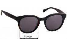 Sunglass Fix Replacement Lenses for Epokhe Anteka 2.0 - 51mm Wide