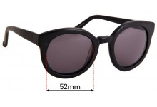Epokhe Oha Replacement Sunglass Lenses - 52mm Wide