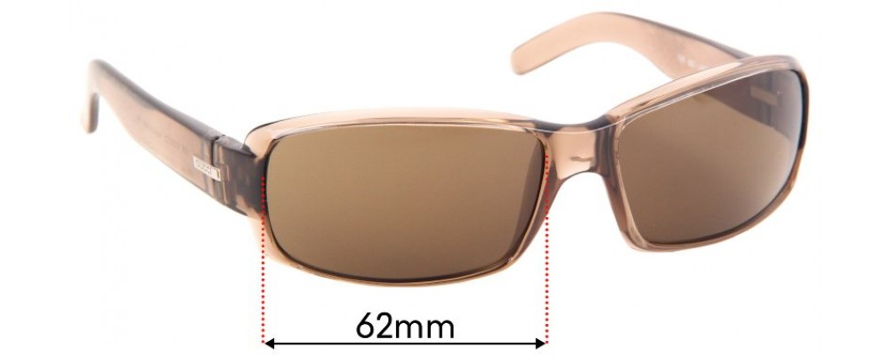 Sunglass Fix Replacement Lenses for Gucci GG1445/S - 62mm Wide