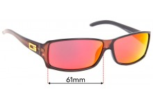 Sunglass Fix Replacement Lenses for Gucci GG2515/S - 61mm wide