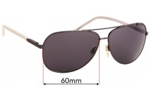 Just Cavalli JC155S Replacement Lenses 60mm Wide