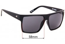 Le Specs Dirty Magic Replacement Sunglass Lenses - 58mm