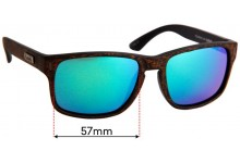 LIIVE The Lewy Replacement Sunglass Lenses - 57mm Wide