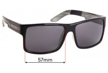 Sunglass Fix Replacement Lenses for LIIVE Truth - 57mm Wide