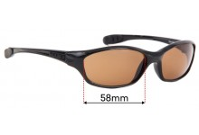 Mako Gone 9380 Replacement Sunglass Lenses - 62mm Wide