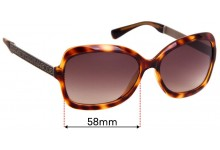 MARC BY MARC JACOBS MMJ 127/S Replacement Sunglass Lenses - 58mm Wide