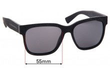 MARC BY MARC JACOBS MMJ 482/S Replacement Sunglass Lenses - 55mm Wide