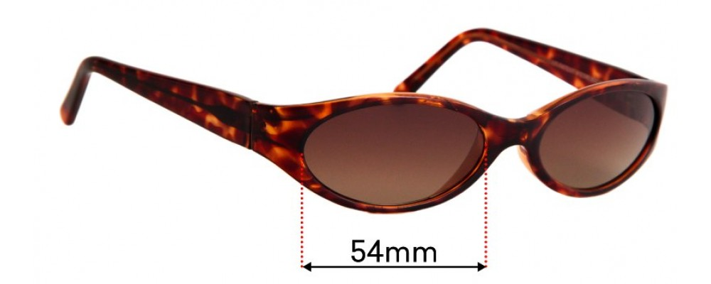 Maui Jim MJ125 Malia  Replacement Lenses 54mm