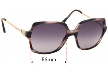 Sunglass Fix Replacement Lenses for Michael Kors Bia MK2053 - 56mm wide