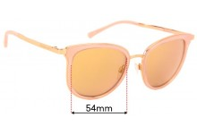 Michael Kors Adrianna I MK1010 Replacement Sunglass Lenses - 54mm wide