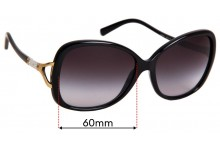 Sunglass Fix Replacement Lenses for Michael Kors MK2010B Bora Bora - 60mm wide