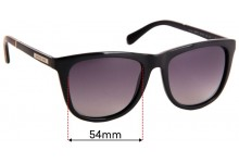 Michael Kors MK6009 Algarve Replacement Sunglass Lenses - 55mm Wide