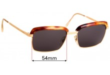 Sunglass Fix Replacement Lenses for Morel Ulysse - 54mm Wide