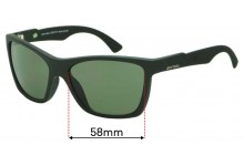 Sunglass Fix Replacement Lenses for Mormaii Venice Beat - 58mm Wide