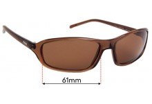 Sunglass Fix Replacement Lenses for Otis Vegas - 61mm wide