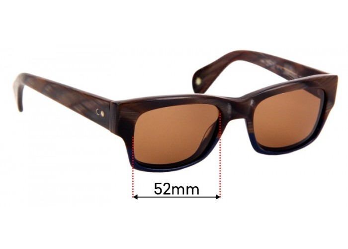 Fuse Lenses Polarized Replacement Lenses for Paul Smith PS 3010