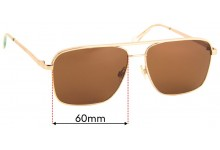 Quay Australia Poster Boy Replacement Sunglass Lenses - 60mm Wide