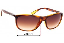 Sunglass Fix Replacement Lenses for Ray Ban RB8351-M - 52mm wide