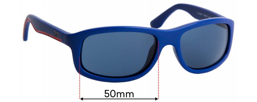 Sunglass Fix Replacement Lenses for Ray Ban Jr RJ9058S - 50mm Wide