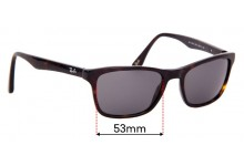 Sunglass Fix Replacement Lenses for Ray Ban RB5279 - 53mm wide
