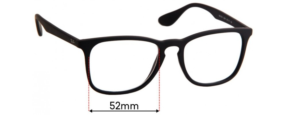 Ray Ban RB7074 Replacement Sunglass Lenses - 52mm Wide