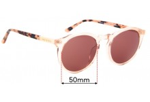 Sunglass Fix Replacement Lenses for Sass & Bide Elated And Helena - 50mm Wide
