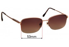 Sunglass Fix Replacement Lenses for Sferoflex 2260 - 53mm Wide