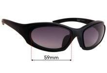 Sunglass Fix Replacement Lenses for Specsavers Sun Rx121 - 59mm wide