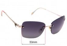 Sunglass Fix Replacement Lenses for Tiffany & Co TF 3045 - 56mm Wide