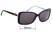 Sunglass Fix Replacement Lenses for Tiffany & Co TF 4102 - 56mm Wide