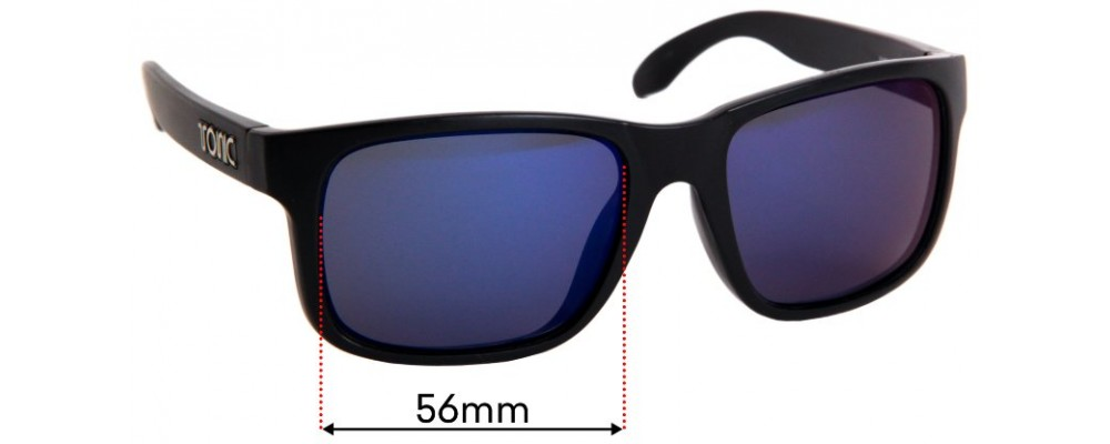 Tonic Mo Replacement Sunglass Lenses - 56mm Wide