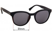 Sunglass Fix Replacement Lenses for Twice Eyewear Elo - 51mm Wide