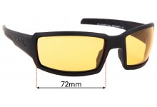 Wiley X Titan Replacement Sunglass Lenses - 72mm Wide