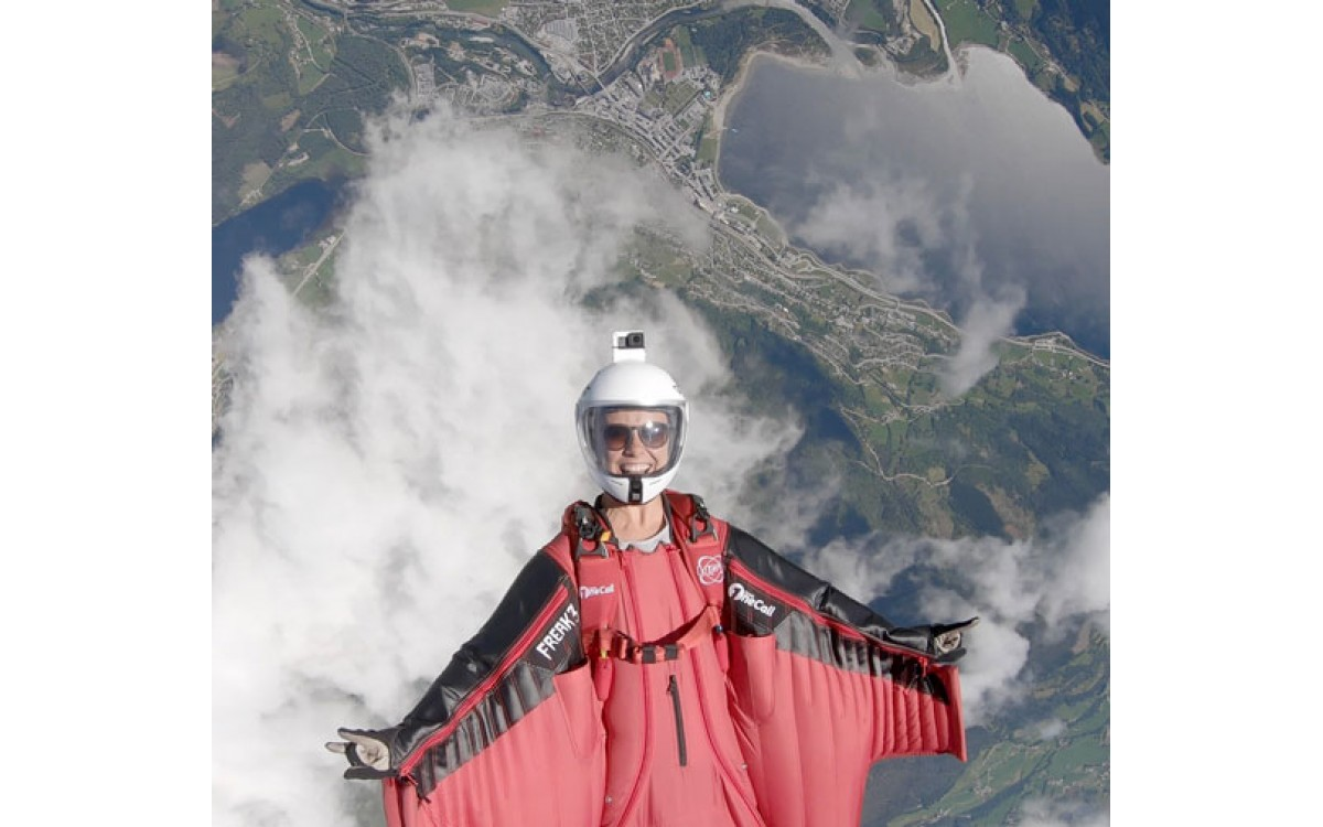 Amber Forte - Pro Wingsuiter and Sunglass Fix Ambassador