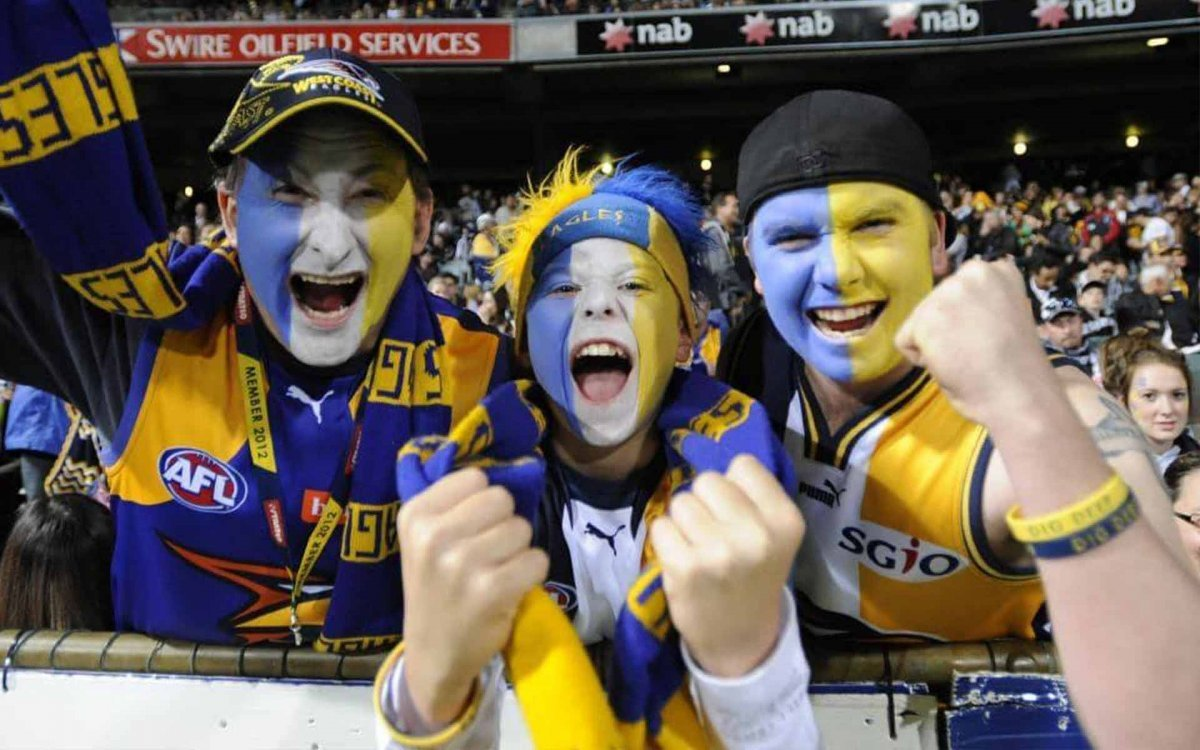Footy fans, have you got your sunglasses ready to watch the NAB Cup