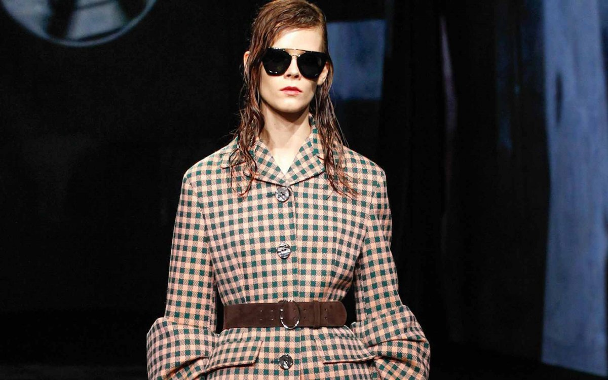 Prada Sunglasses Standout at Paris Fashion Week